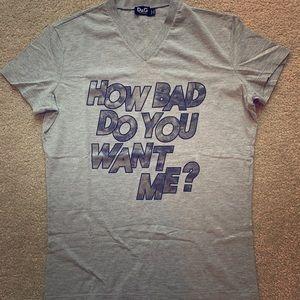 D&G T shirt /Small